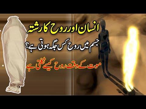 Rooh Aur  Jism  Ka Rishta ( Human Body And Soul )urdu islamic stories