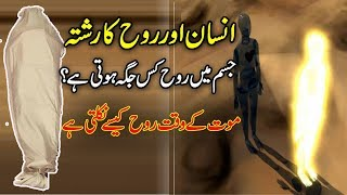 Rooh Aur  Jism  Ka Rishta ( Human Body And Soul )urdu islamic stories