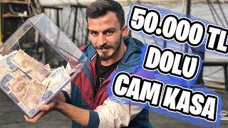 KIRILMAZ CAMDAN PARA KASASI YAPTIRDIM !! (50.000tl ÖDÜL)