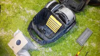 Ремонт пылесоса Samsung/Vacuum cleaner repair Samsung