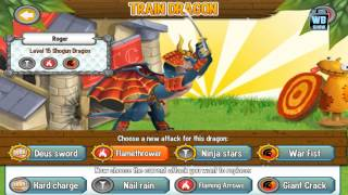 Dragon City: Shogun Dragon Battle & Skills
