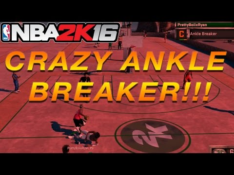NBA 2K16 My Park | OMFG CRAZY ANKLE BREAKER !!!! | HE JUST DIED LOL !! | BALANCED POINT GUARD