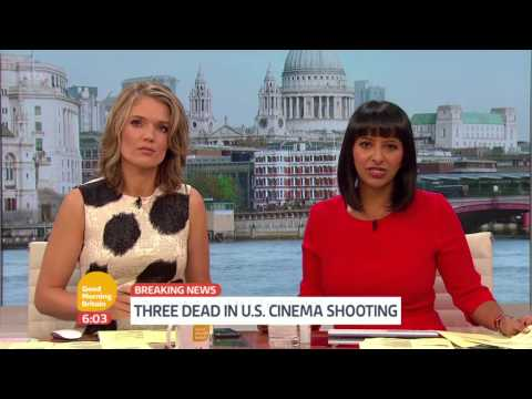 Louisiana Cinema Shooting News   Good Morning Britain