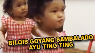 Video Bilqis Goyang Sambalado Ayu Ting Ting download MP3, 3GP, MP4, WEBM, AVI, FLV Oktober 2017