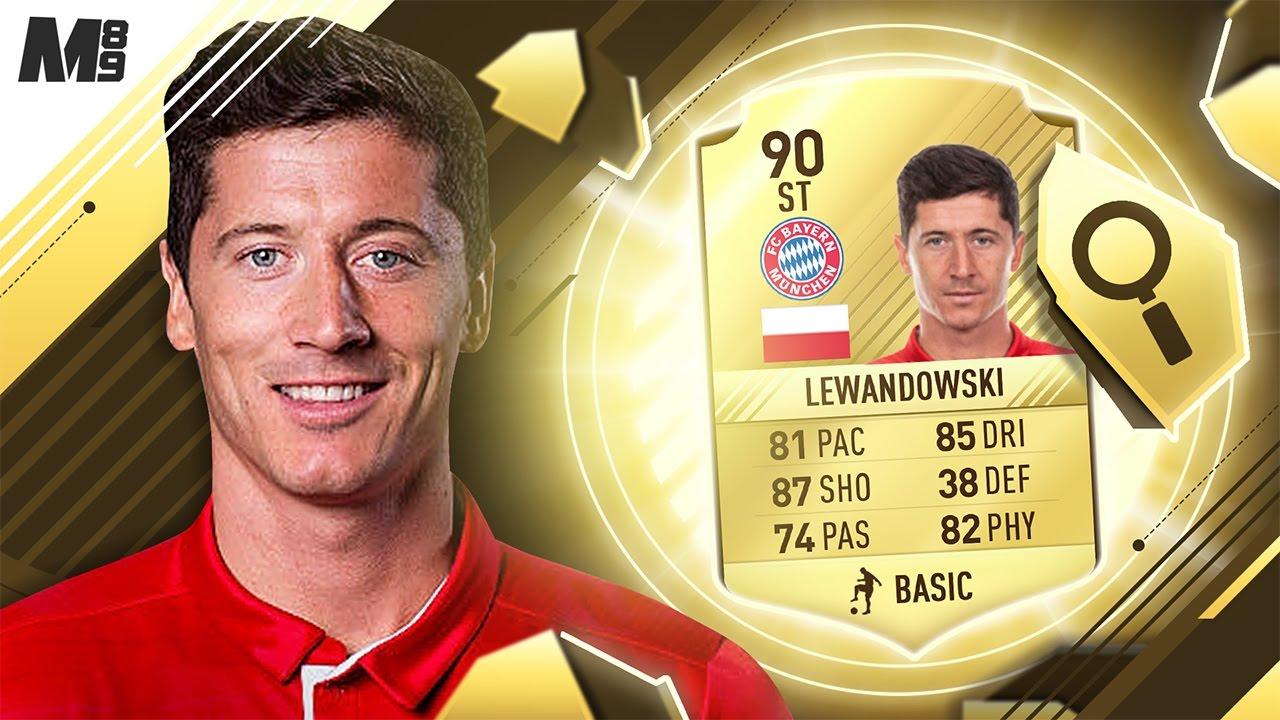 Fifa 17 Lewandowski