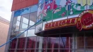 Клининг в Армавире. Моем фасад здания.(, 2013-04-12T14:50:26.000Z)