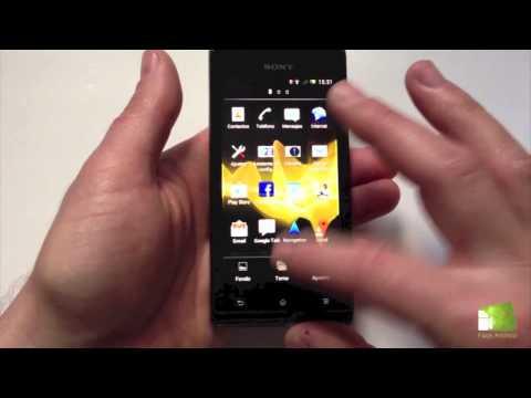 Análisis del Sony Xperia J: Review en español | FAQsAndroid.com