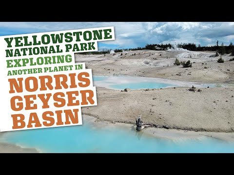 My Brain Almost Exploded! Yellowstone National Park: Norris Geyser Basin