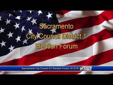 Election Forum: Dist. 1 Sacramento City Council