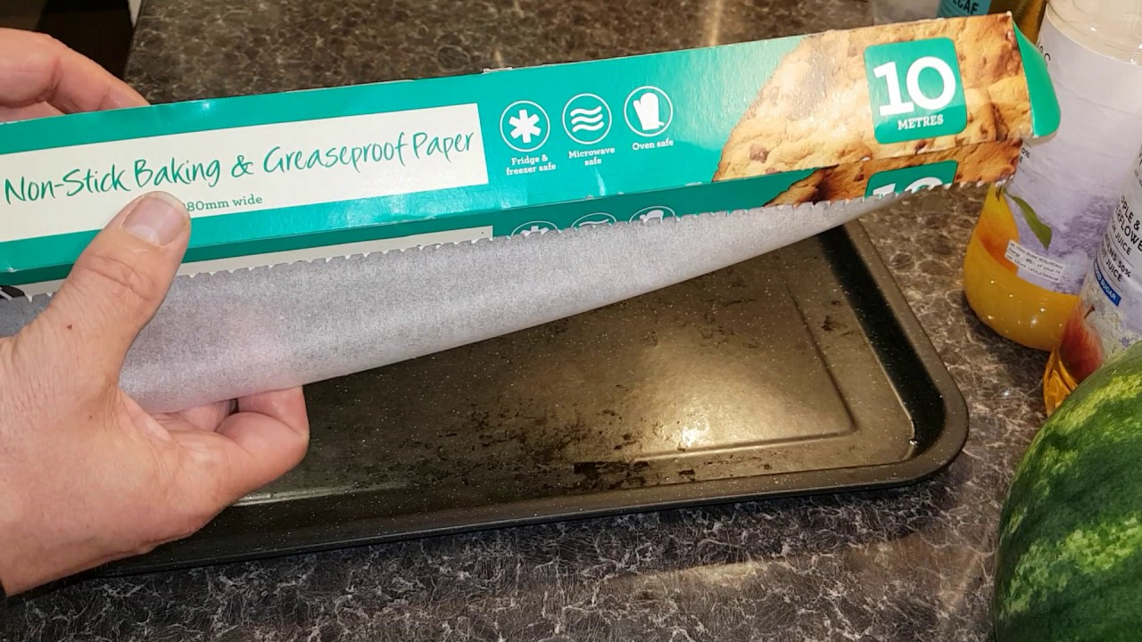 How To Make Greaseproof Paper Stop Rolling Back Up Youtube