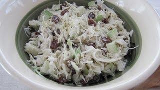 Cabbage Salad With California Raisins