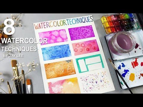 8 Basic Watercolor