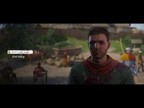 Let's Play Kingdom Come Deliverance - Part 2 - Haggling, trading, death and destruction