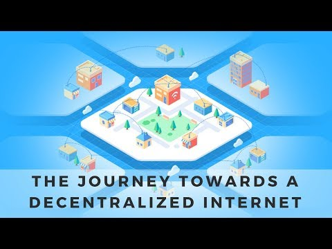 The Journey towards a Decentralized Internet