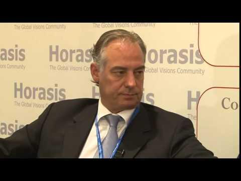 Erik Essiger Emirates Capital & Niraj Sharan AURA, 2011 Horasis Global Arab Business Meeting