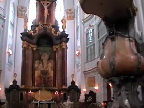 St. Michaelis Kirche, genannt Michel - das Kirchenschiff  - Hamburg
