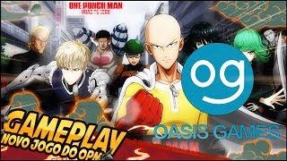 vuclip JOGUEI O NOVO JOGO DA OASIS! One Punch Man - Road to Hero   Naruto Online Sqn