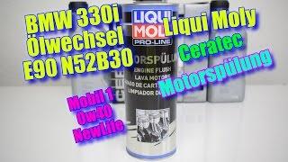 Neue Laufruhe Liqui Moly 3721 CeraTec & Liqui Moly ProLine Motorspülung (2423) Mobil1 0w40 New Life