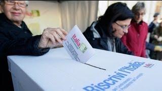 La gauche italienne choisit son candidat pour les légisatives de 2013