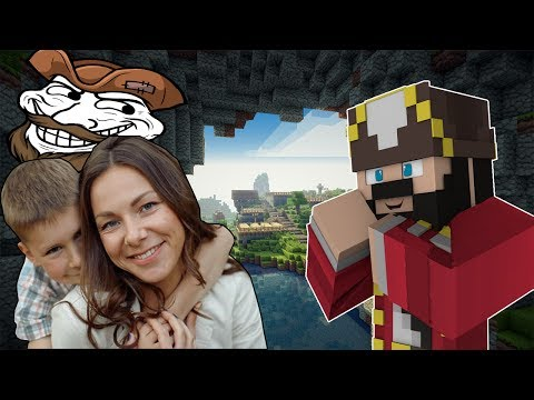 A MOM SENT ME TO TROLL HER SON ON MINECRAFT (minecraft trolling & griefing)