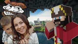 One of UnstoppableLuck's most viewed videos: A MOM SENT ME TO TROLL HER SON ON MINECRAFT (minecraft trolling & griefing)