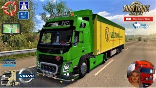 Euro Truck Simulator 2 (1.35)   Volvo FM fix v1.8 by Galimin Knaper K100 Ownable Trailer by Kast Bremen to Duisburg Germany Revisiting Phase 2 by SCS Software + DLc's & Mods https://forum.scssoft.com/viewtopic.php?f=35&t=268923  Support me please thanks S