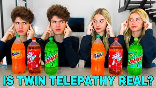 TWIN vs TWIN REAL TELEPATHY TEST