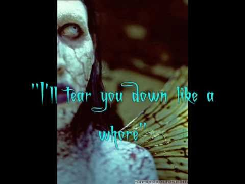 Deformography - Marilyn Manson w/lyrics - YouTube