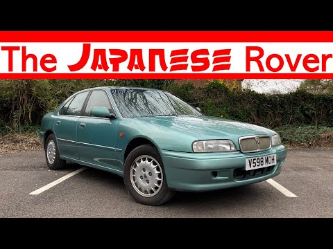 Rover 600  – The Japanese Rover (1999 623GSI Driven)