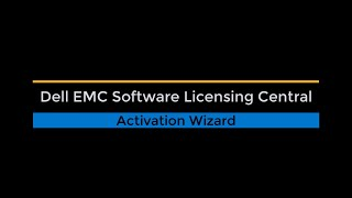 Software Licensing Central Activation (Activate My Software)