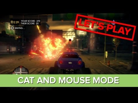 Saints Row 4 - Co-op Gameplay - Cat and Mouse Mode