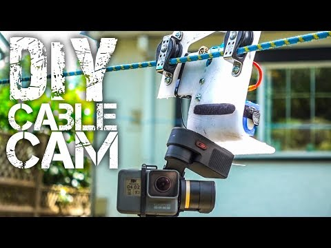 DIY GoPro Cable Cam
