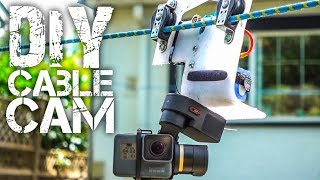 Video DIY GoPro Cable Cam download MP3, 3GP, MP4, WEBM, AVI, FLV Oktober 2018