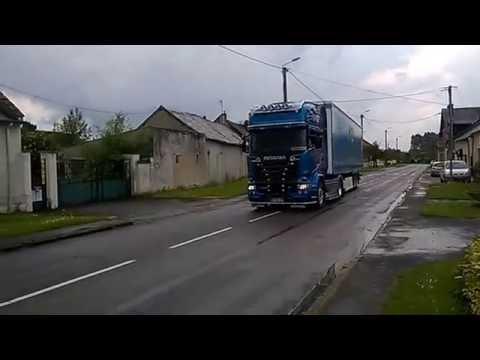 Scania R520 V8 Blue Stream HTL