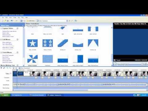 Hướng Dẫn Làm Video Bằng Windows Movie Maker- Tuấn Nhung