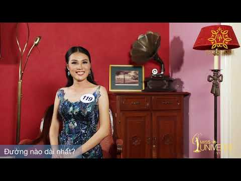 INTERVIEW | Chu Thị Minh Trang, SBD 119 | Top 45 Miss Universe Vietnam