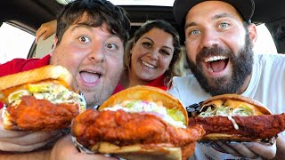 BEST NASHVILLE HOT CHICKEN FEAST with JONAH AND SUZY! (TOO SPICY)