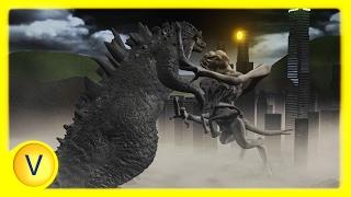 Godzilla vs Clover (Cloverfield) - (Animated Battle!)
