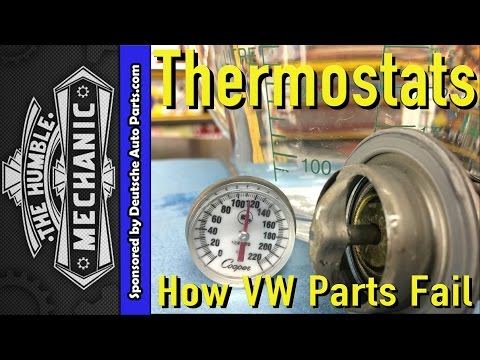 How VW Parts Fail ~ 2.0t BPY Thermostat Code p2181