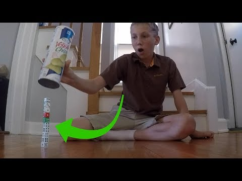 Dice Stacking Trick Shots   That's Amazing
