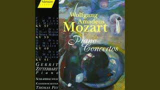 Piano Concerto No. 1 in F Major, K. 37: I. Allegro