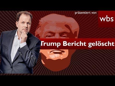 Upload-Filter löschen Mueller-Bericht über Trump | Rechtsanwalt Christian Solmecke