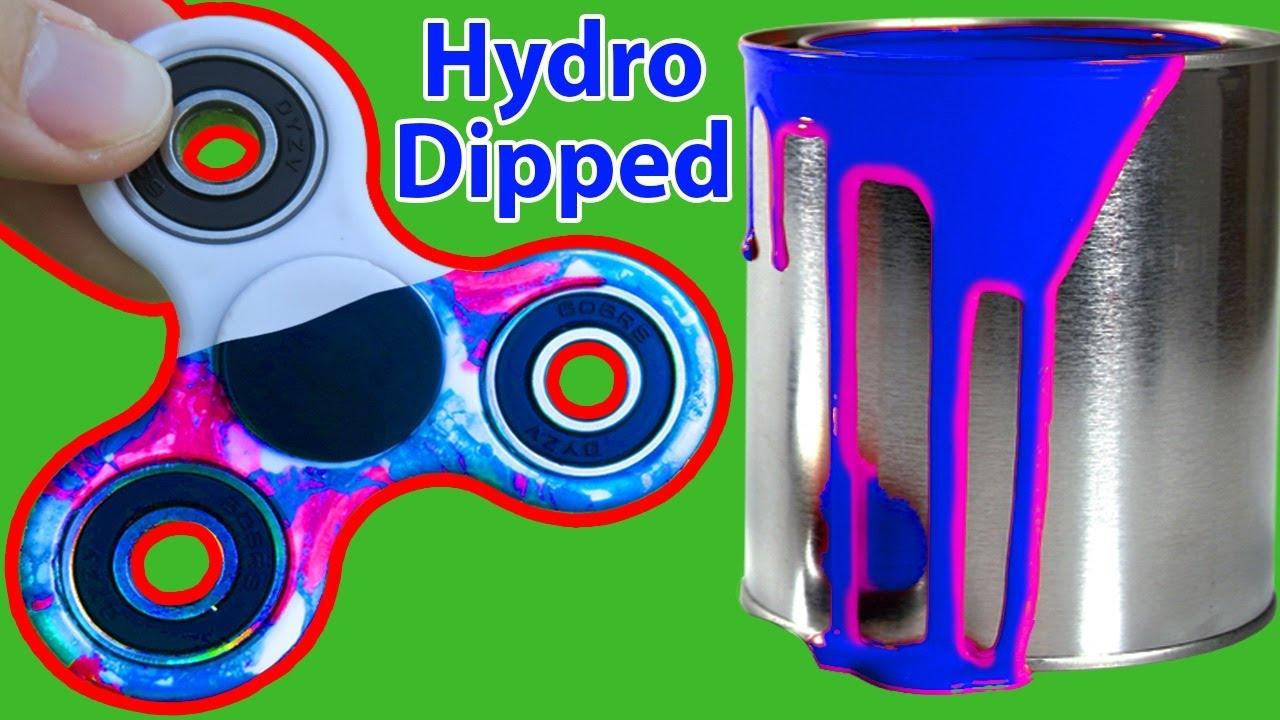 Spray Paint Hydro Dipped Fidget Spinner