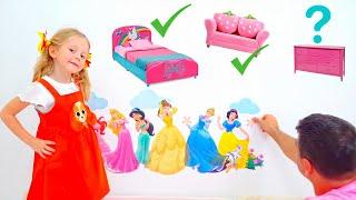 नस्त्या और उसका नया गुलाबी कमरा
