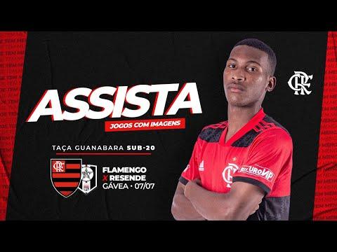 Flamengo x Resende AO VIVO | Taça Guanabara Sub-20
