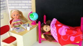 КОГДА ПОДРУГА СПИТ Мультик #Барби Школа Играем с Куклами Игрушки для девочек
