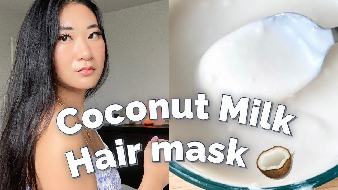 Coconut Milk Hair Mask | Easy Way to Restore & Grow hair