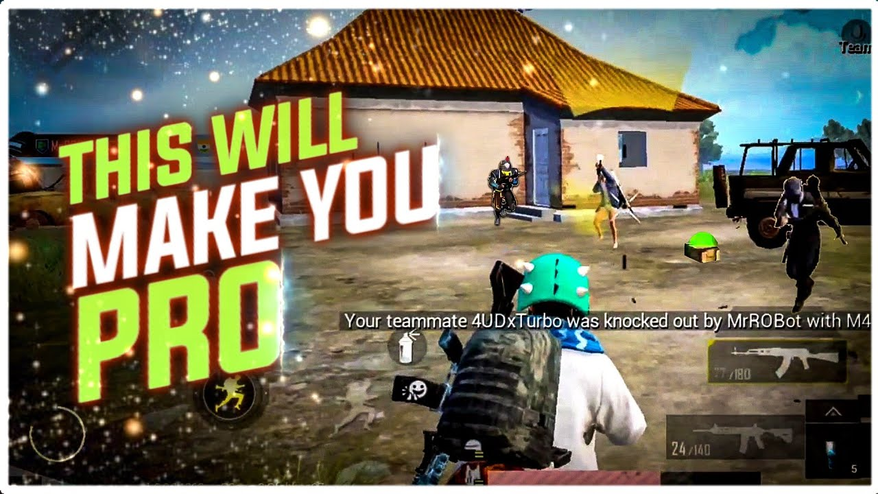 Top 8 Tips And Tricks Will Make You Pro | Pubg Mobile | Potter Gaming