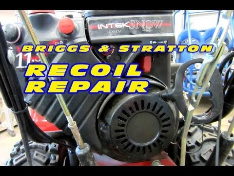 Lawn Mower Starter Rope Repair furthermore Afwqogmunsi together with I15 Nxkuexo also How To Fix Pull Start Recoil And Rope Replacement additionally Briggs And Stratton Lawn Mower Carburetors Lawnmower. on replace pull cord briggs and stratton engine