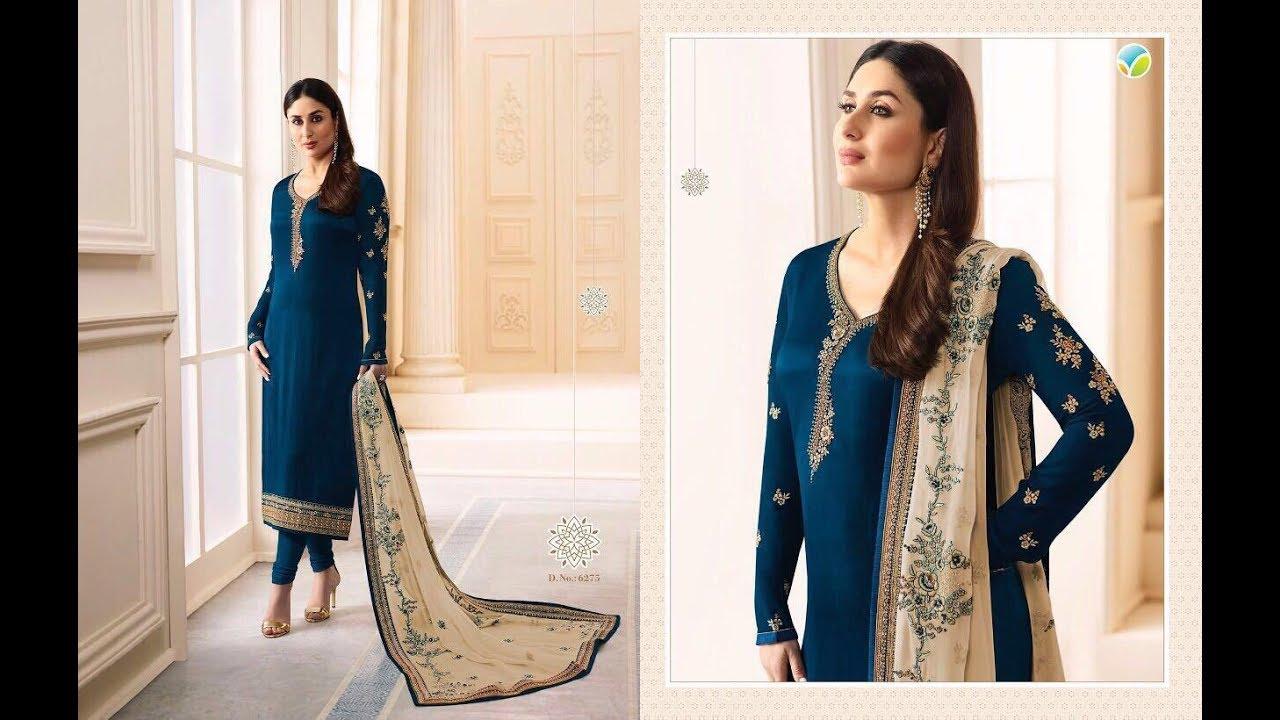 ea43514957 Latest Indian Dresses Collections 2017 || Vinay Fashion || Kaseesh-Kareena  3 ''READY''